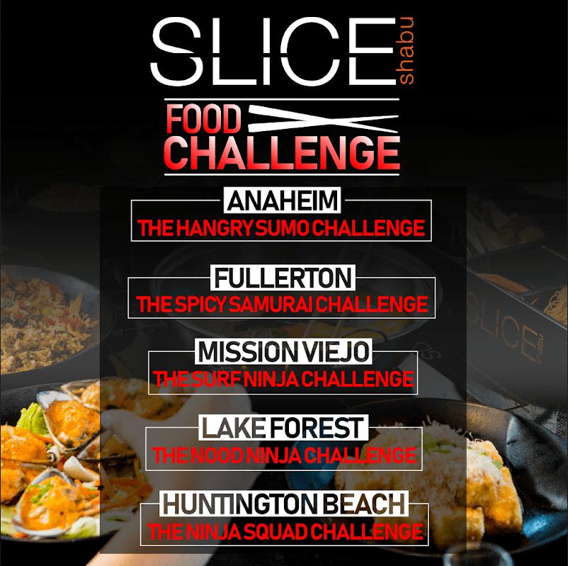 Slice Shabu Food Challenge Promotional Piece